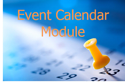 Schedule Events Easily with the Event Calendar Module