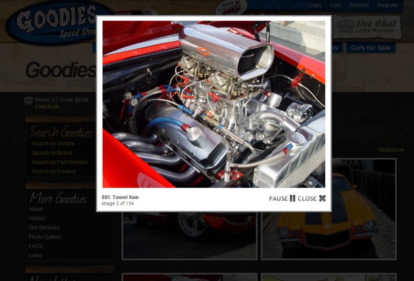 eCommerce Photo Slideshow
