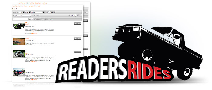 Reader's Rides builds online automotive community and following