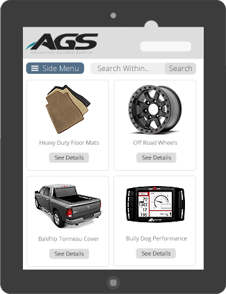 AGS Tablet View