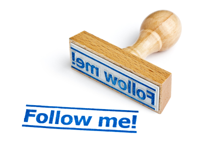 Follow Me Stamp