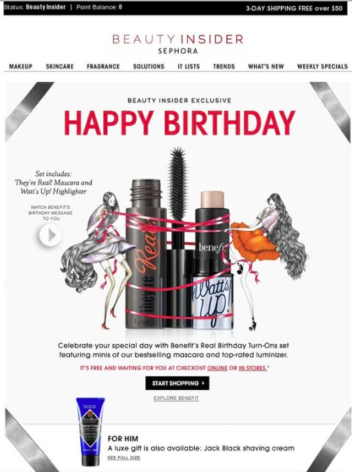 Happy Birthday Sephora