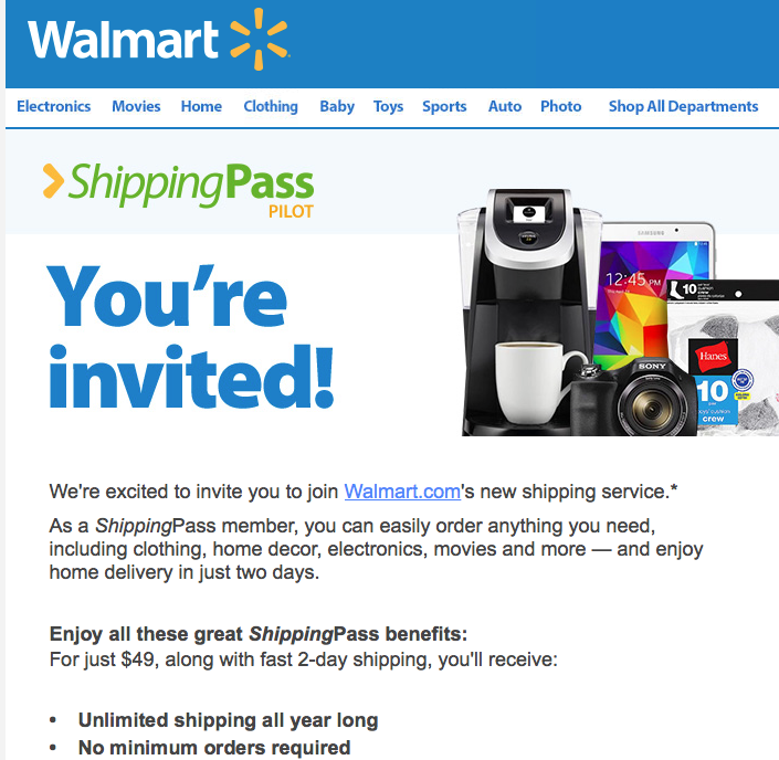 Walmart and Ecommerce