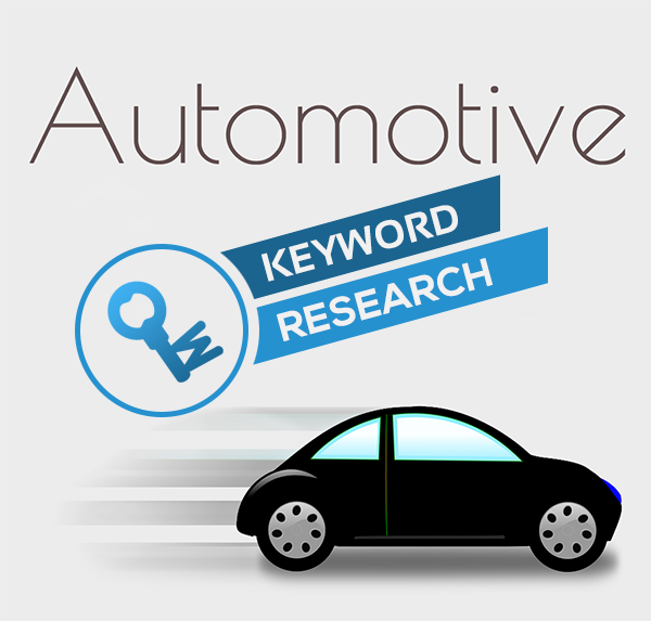 Research your keywords for the automotive industry