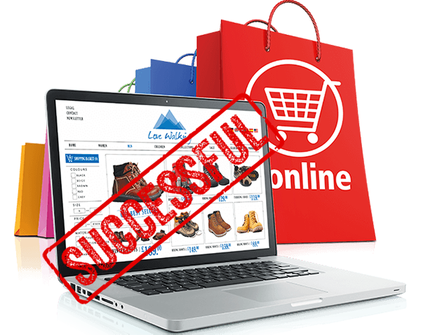 Successful Online Stores have improved customer experiences