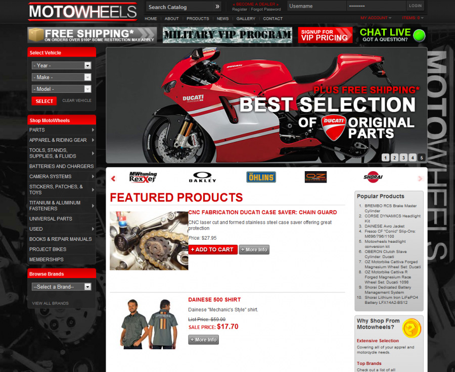 motowheels - after screenshot