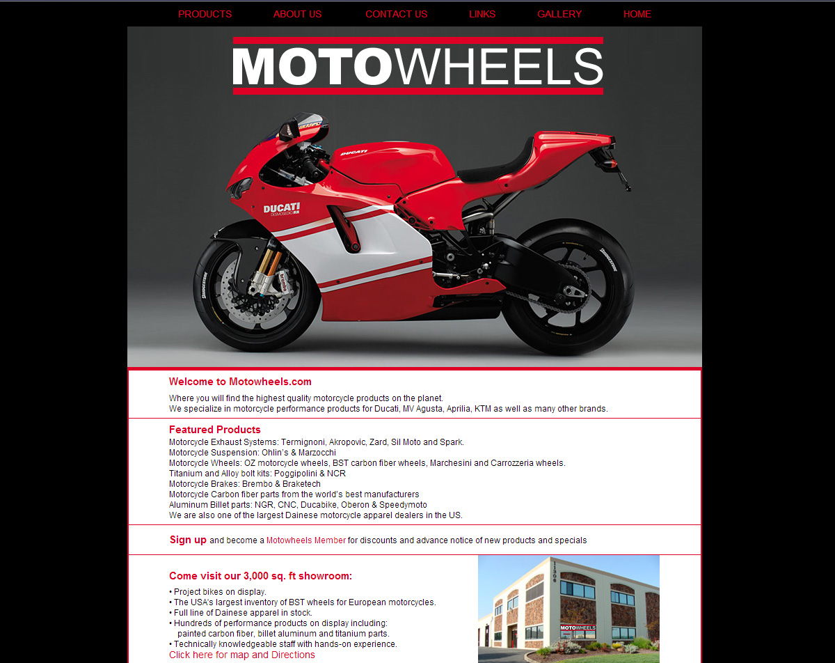 motowheels - before screenshot