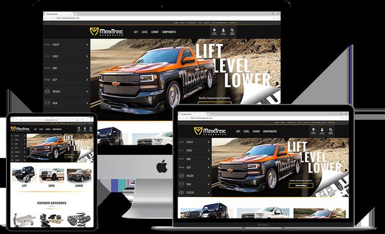 MaxTrac website series