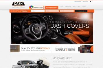 Portfolio - Beautiful Web Design Examples | Web Shop Manager - Dash Care