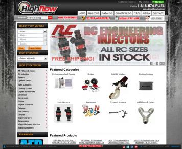 Portfolio - Beautiful Web Design Examples | Web Shop Manager - High Flow Performance