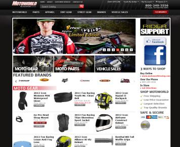 Portfolio - Beautiful Web Design Examples | Web Shop Manager - MotoWorld