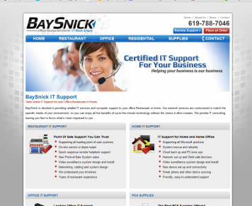 Portfolio - Beautiful Web Design Examples | Web Shop Manager - BaySnick