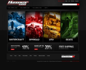 Portfolio - Beautiful Web Design Examples | Web Shop Manager - Hunsaker