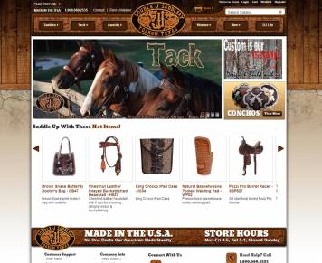 Portfolio - Double J Saddlery