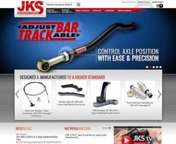 Portfolio - Beautiful Web Design Examples | Web Shop Manager - JKS Manufacturing