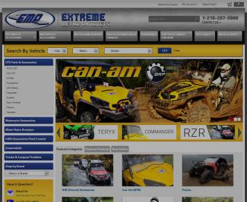 Portfolio - Beautiful Web Design Examples | Web Shop Manager - Extreme Metal Products